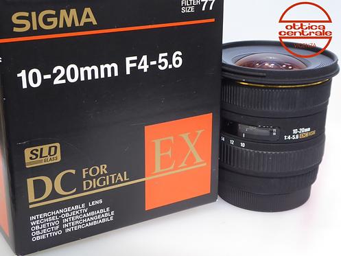 Obiettivo Sigma 10-20 mm f4,0-5,6 per Canon