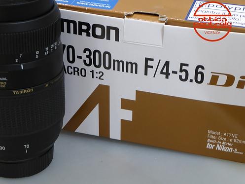 Obiettivo Tamron 70-300/4.0-5.6 per Nikon