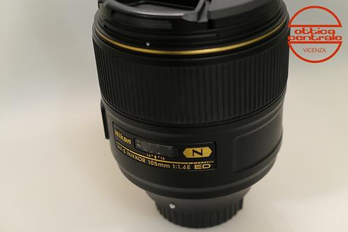 Obiettivo Nikon AF-S 105 1,4E ED N
