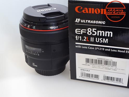 Obiettivo Canon EF 85 1,2 II