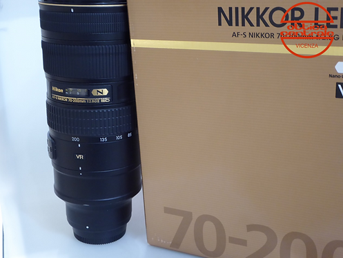 Obiettivo NIKON AF-S 70-200 2,8GII ED