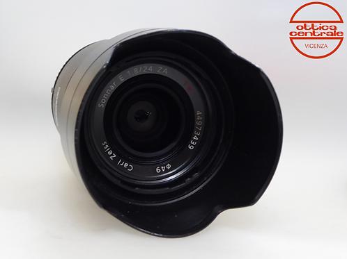 Obiettivo Sony ZEISS 24 mm f/1,8 ZA