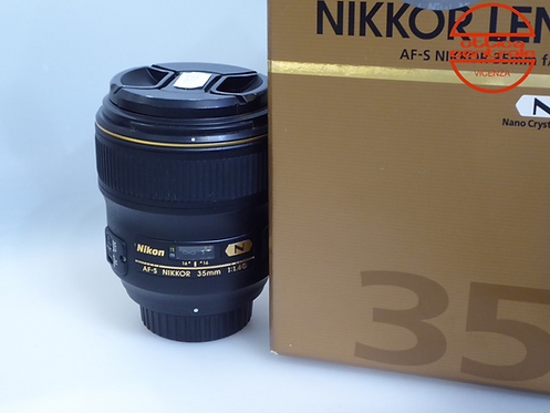 Obiettivo NIKON AF-S 35mm 1,4G