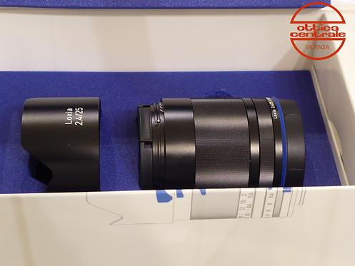 Obiettivo Loxia 25 mm f2,4 E-MOUNT
