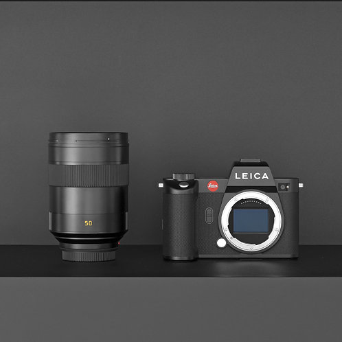 PRIME BUNDLE LEICA SL2 CON SUMMILUX-SL 50 MM F/1.4 ASPH