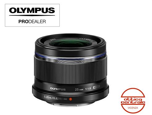 Obiettivo Olympus 25 mm f 1.8