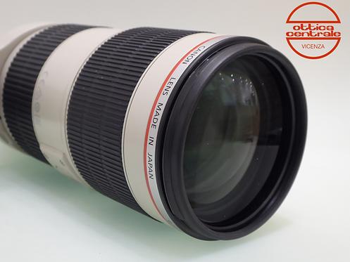 Obiettivo Canon 70-200 mm f2,8 II
