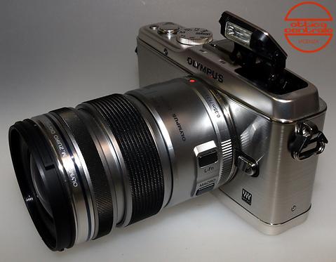 Fotocamera Olympus E-P3 + Obiettivo Olympus 12-50 mm f / 3.5-6.3 EZ