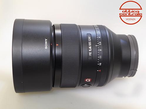 Obiettivo Sony FE 85 mm f1.4 GM, prodotto fotografico usato