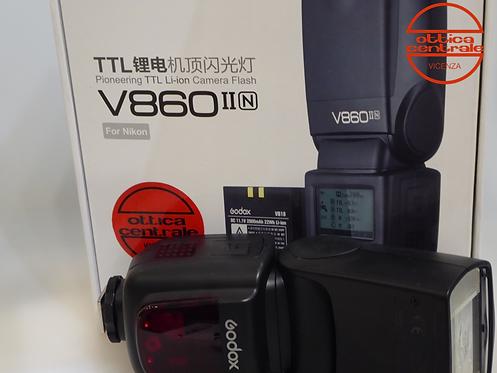 Flash Godox V860 per Nikon