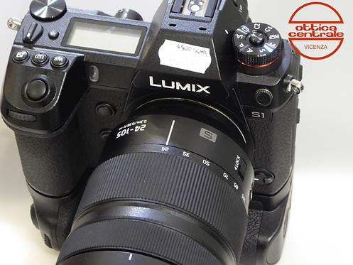 Fotocamera LUMIX S1 con 24-105