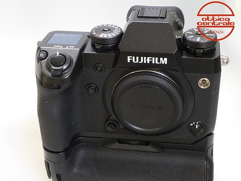 Fotocamera Fujifilm XH 1 con impugnatura