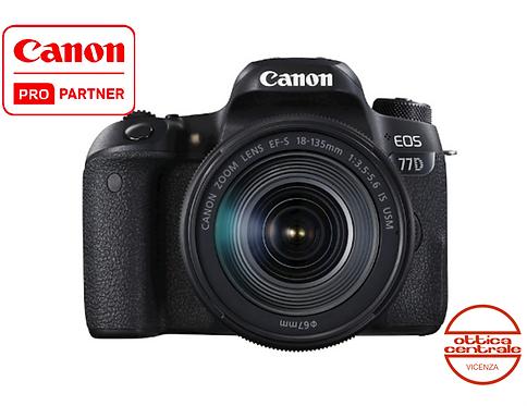 Canon 77D con 18-135