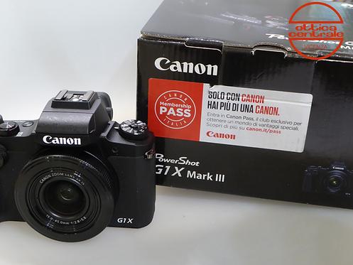 Fotocamera Canon G1 X MK III, prodotto fotografico usato