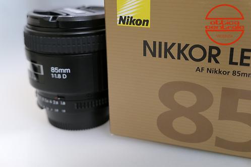 Obiettivo Nikon AF 85 1,8D