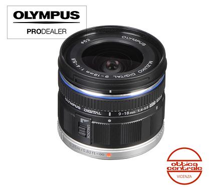Obiettivo Olympus 9-18 mm