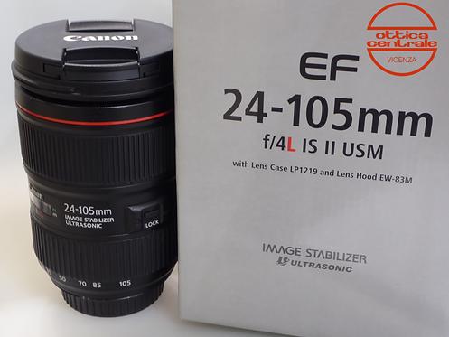 Obiettivo Canon EF 24-105 4,0L IS II USM