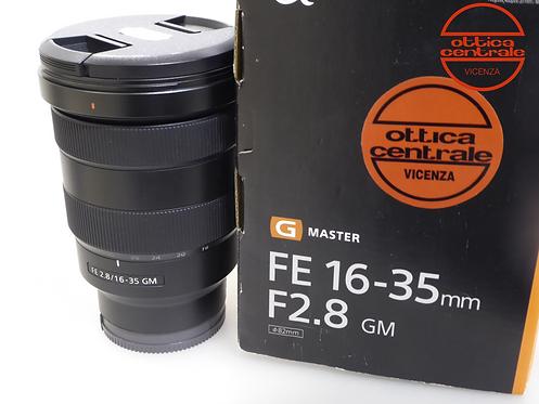 Obiettivo Sony FE 16-35 f2.8 GM