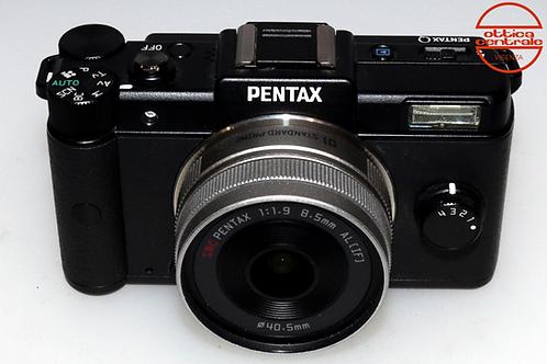 Fotocamera Pentax Q + Obiettivo Pentax 8.5 mm f/1,9