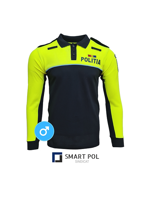 Tricou Politie Nou Bărbați ML