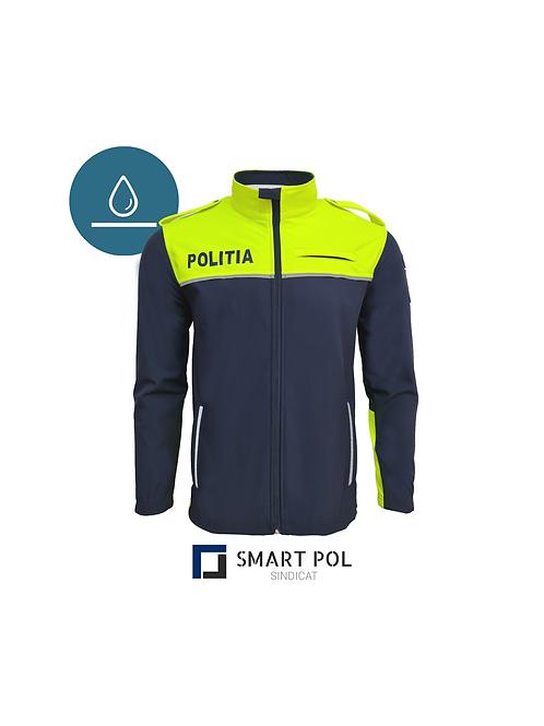 Geaca SoftShell Politia Hi-Vis