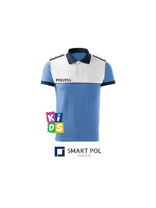 Tricou Politie Rutiera Bleu Copii