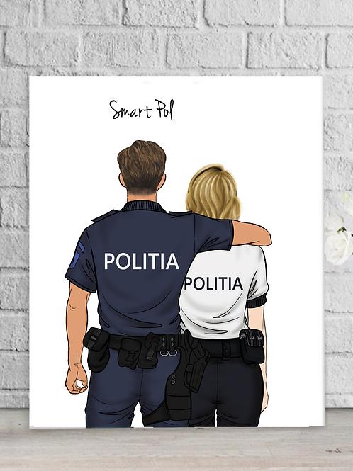 Tablou Politie Colegi