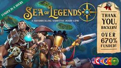 Sea of Legends Kickstarter