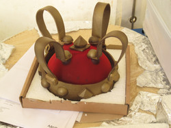 Paul Wayne Gregory's gilded chocolate crown