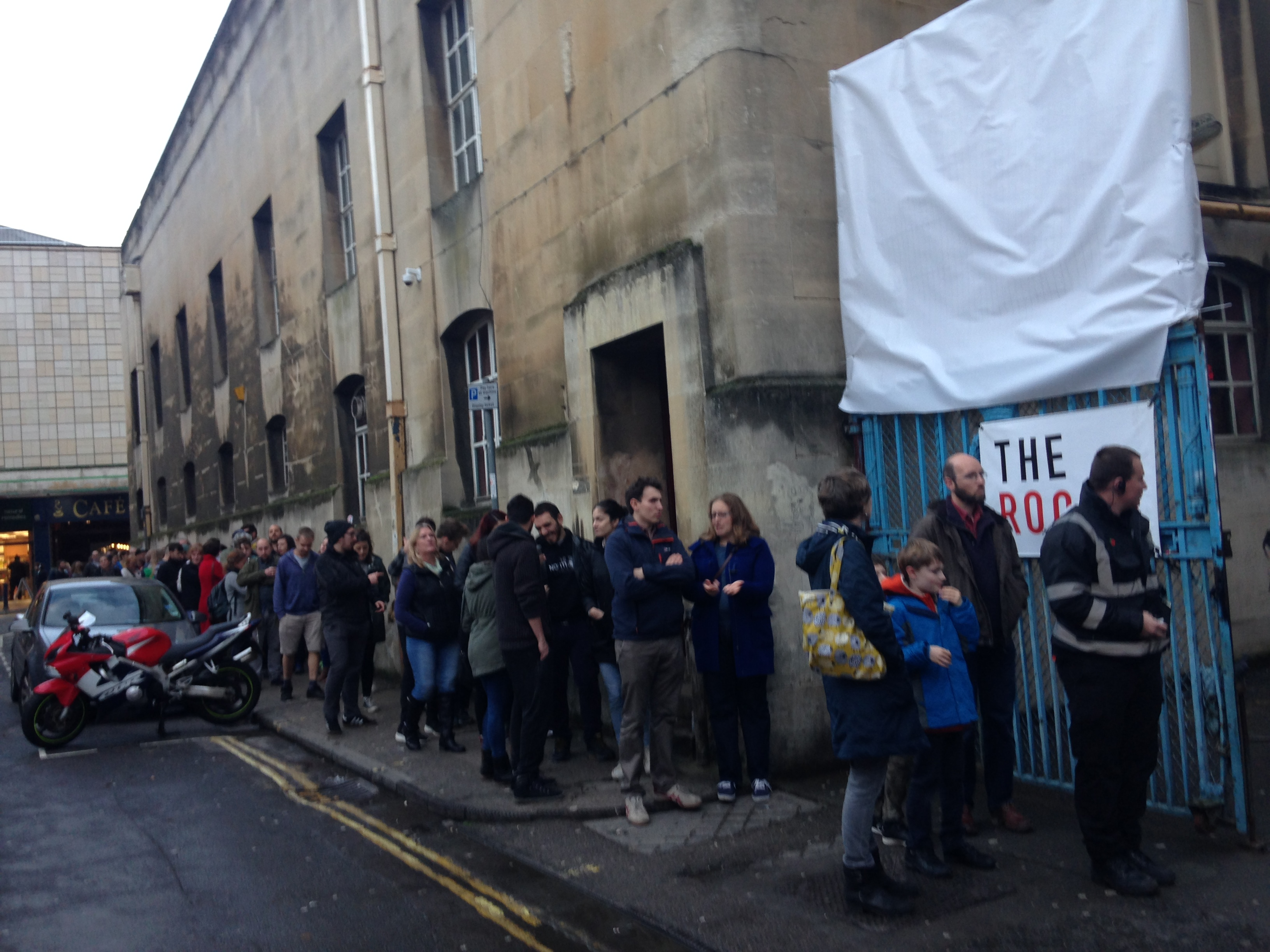 The Rooms queue