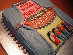 High School Musical Cake