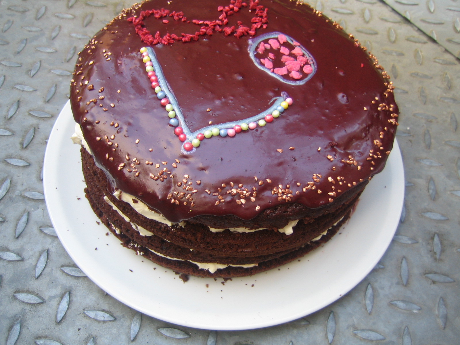 Giant Chocolate Cake