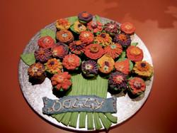 Bouquet Birthday Cake