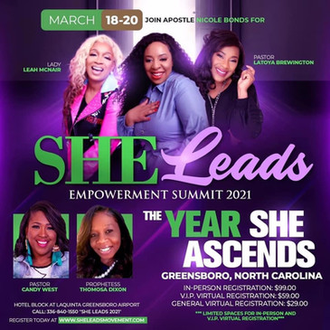 SHE Leads Empowerment Summit