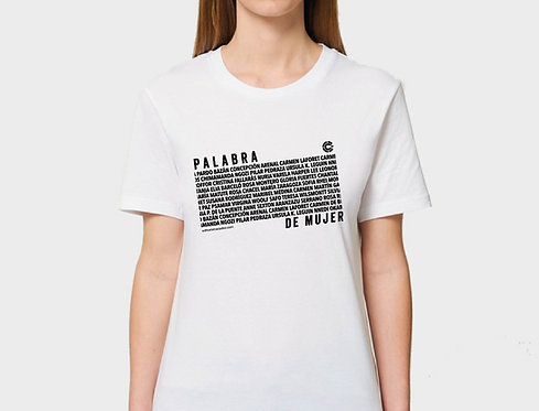 Camiseta Palabra de mujer
