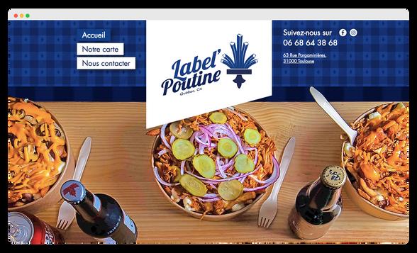 Label Poutine