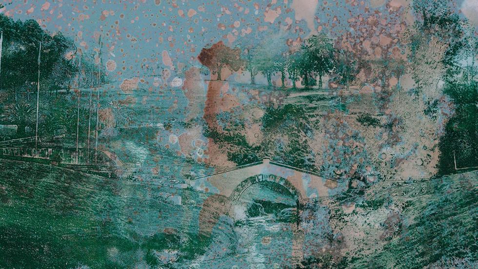 Boyacá 1. De la serie Otros puentes. 19,5 x 25 cm. 2019