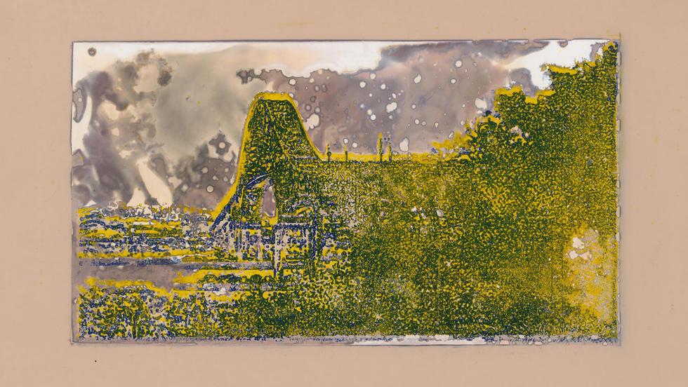 Panamá - Centenario. De la serie Miniprints. 12,6 x 17,8 cm. 2019