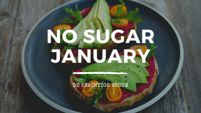 No Sugar January - 30 dagen geen suiker challenge!