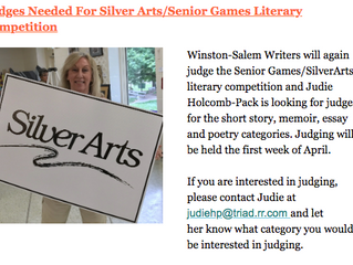 Silver Art Judges Needed