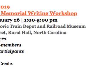Just Write. 2019 The Al Perry Memorial Writing Workshop