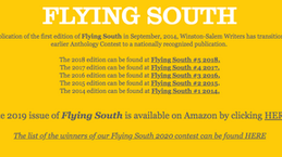 Flying South Winners Announced