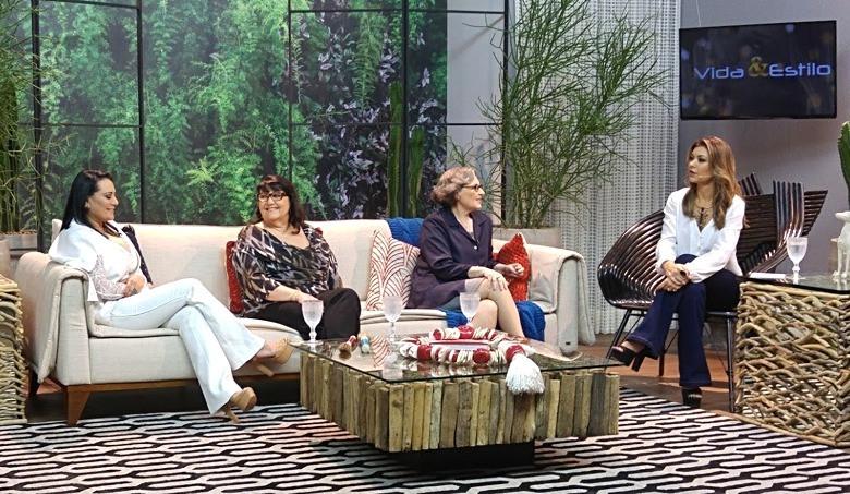 No programa da Amanda Françozo, em uma conversa sobre festa de casamento.