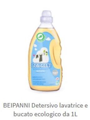 VERDEVERO Beipanni Detersivo lavatrice e bucato da 1 L