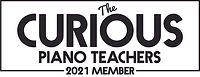 The curious piano teachers member logo