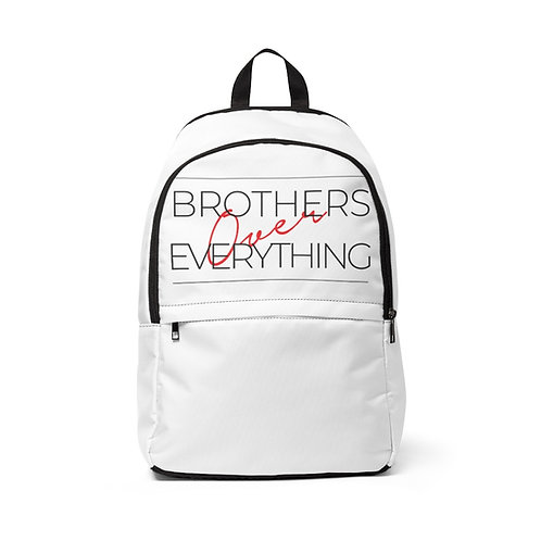 B.O. E Campaign Unisex Fabric Backpack