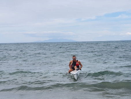 NOVICE SURFSKI PADDLER EMBRACES VIRTUAL CHALLENGE