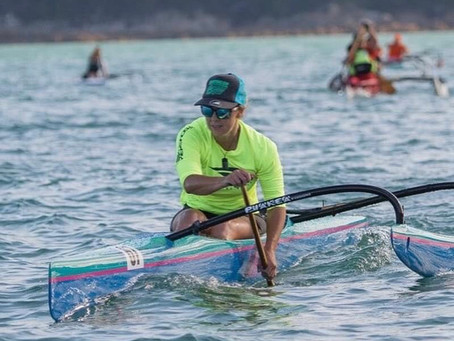 Champion Waka Ama Paddler Joins Virtual Champs