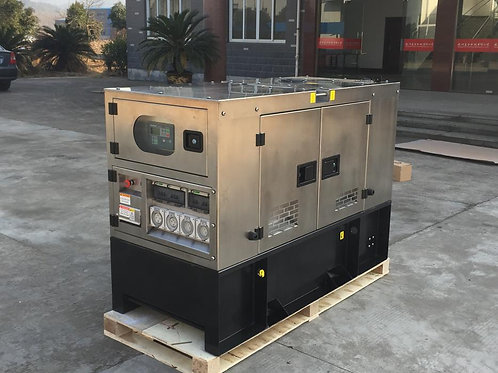 Laidong 10kw Stainless Steel enclosed diesel generator package