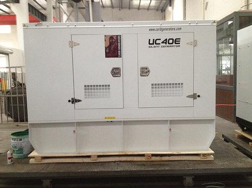 Isuzu 40kw Standard Steel Generator Package